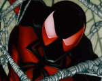 Kaine as Scarlet Spider