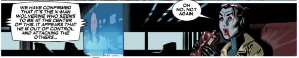 Wolverine v4 6 - Jubilee interrupted