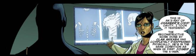 X-Men Legacy 248 - Chamber x-ray