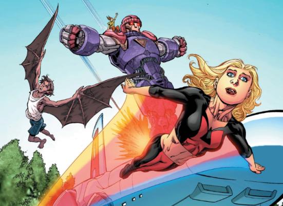 Avengers Academy 20 - Lightspeed arrives
