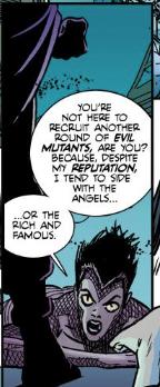 Vengeance 1 - Stacy X vs Magneto