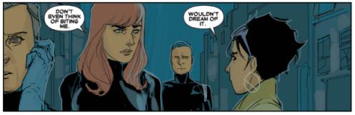 X-23 v3 20 - Jubilee does not bite Black Widow
