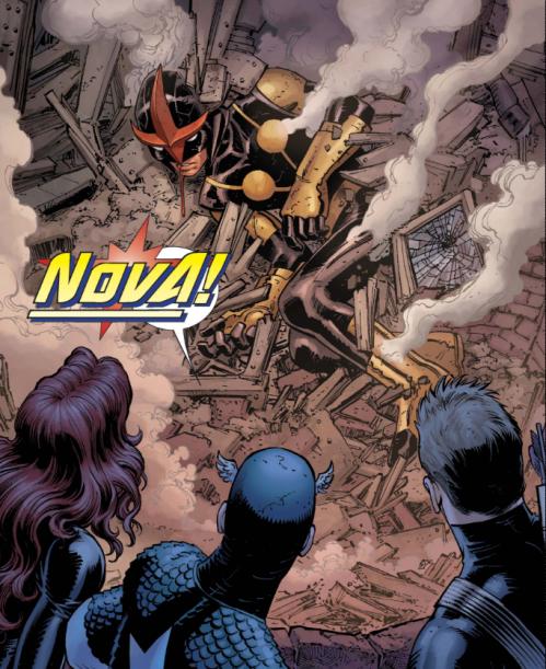 Avengers vs X-Men 1 - Nova is found