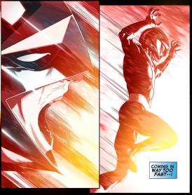 Avengers vs X-Men-Infinite 1 - Nova comes in too hot
