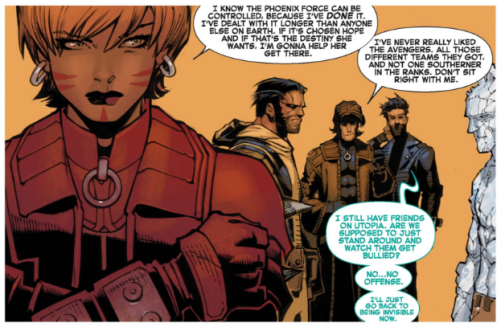 Wolverine and the X-Men 10 - Chamber considers leaving