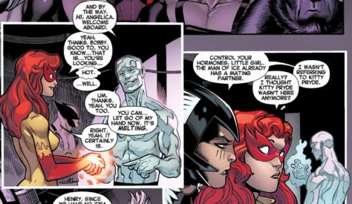 Amazing X-Men v2 1 - Firestar and Iceman
