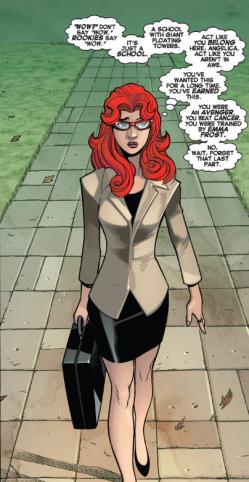 Amazing X-Men v2 1 - Firestar arrives at Jean Grey School
