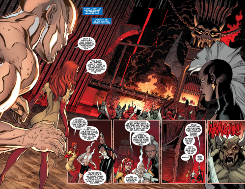 Amazing X-Men v2 2 - Firestar in hell