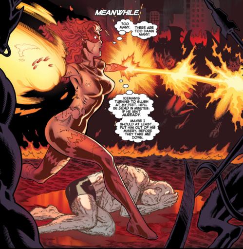 Amazing X-Men v2 4 - Firestar vs demons