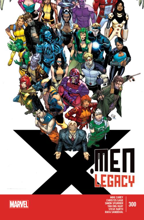 X-Men Legacy 300 - cover