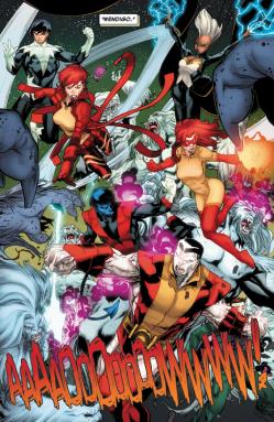 Amazing X-Men v2 9 - X-Men vs Wendigos