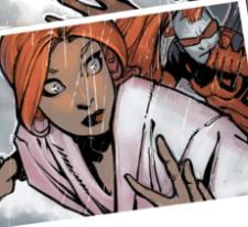 Uncanny X-Men v3 22 - Firestar watches as Sentinels approach