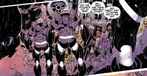 Uncanny X-Men v3 22 - Storm and Firestar help