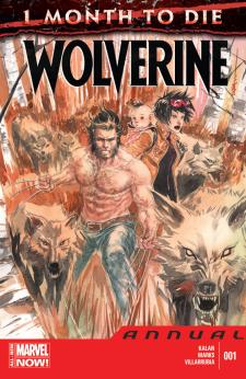 Wolverine Annual v4 1 - cover