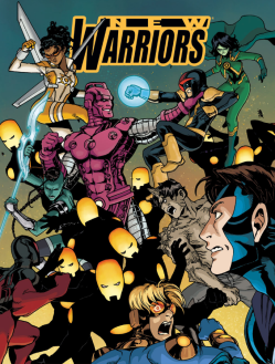 New Warriors v5 11 - cover excerpt